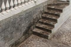 imagen escalera estampado plata negro 01