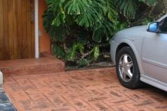 imagen estacionamiento estampado naranja nogal 02