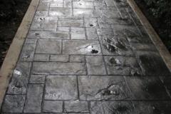imagen pasillo estampado negro negro 01