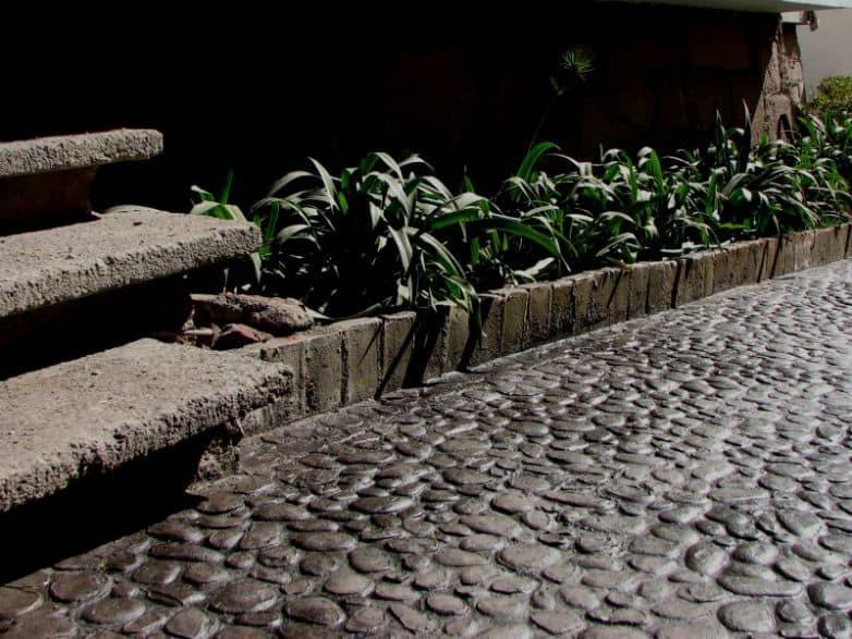 Molde piedra de rio
