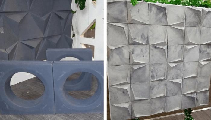 Fachaletas y celosías de concreto