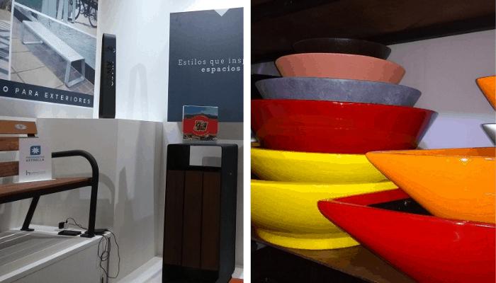 Visitar expos - Macetas y mobiliario urbano