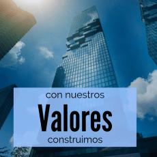 Con nuestros valores construimos relaciones